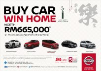 Buy a Nissan, win a home